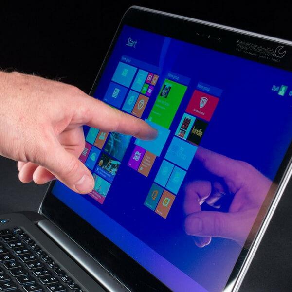 صفحه نمایش لمسی لپ تاپ