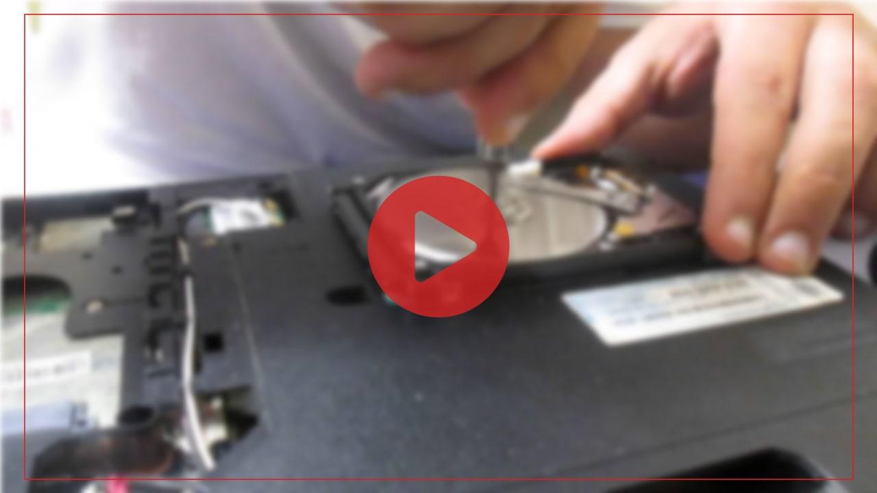 آموزش تعویض هارد HDD با SSD در لپ تاپ فوجیتسو