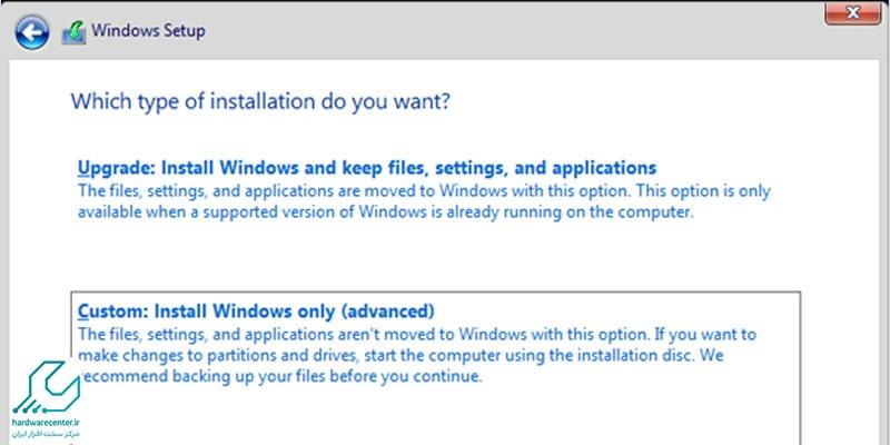 آموزش نصب Windows 10